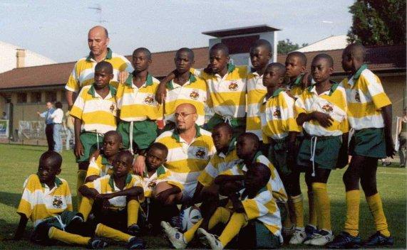 Squadra di rugby a Pointe Noire