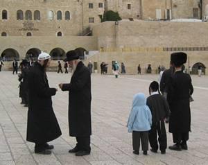 Ebrei ortodossi a Gerusalemme