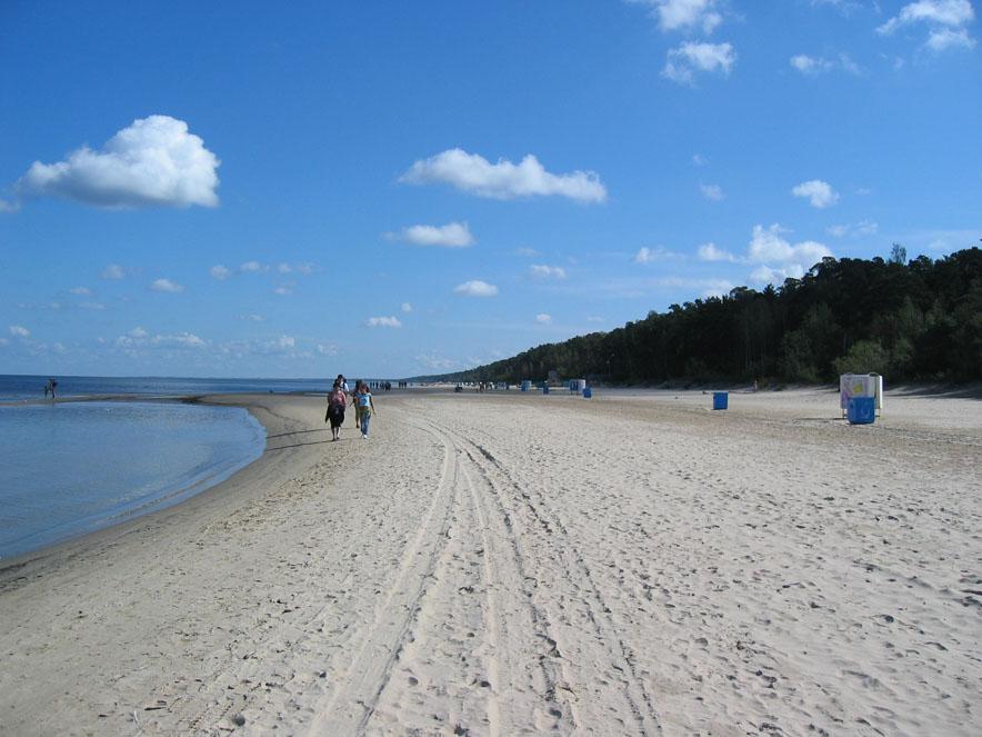 Jurmala, la spiaggia di Riga sul Baltico