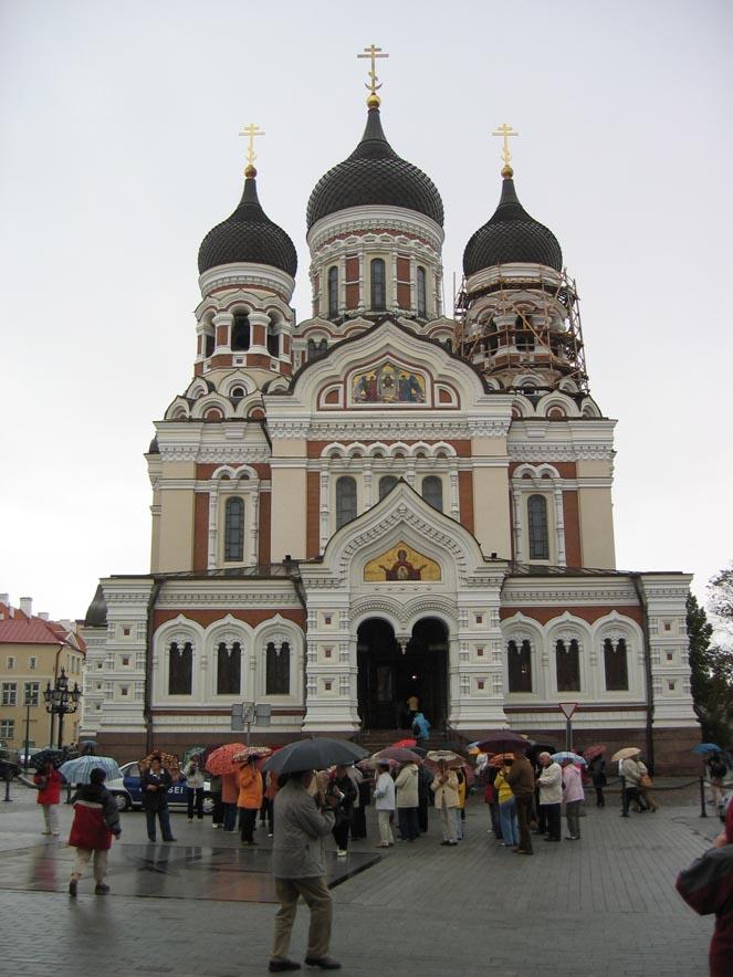 Cattedrale ortodossa a Toompea