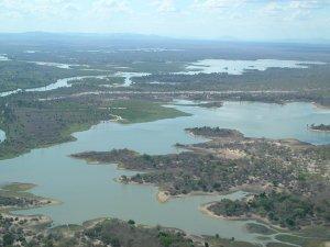 Vista aerea del Selous