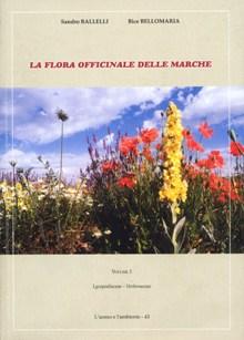 """""""La flora officinale delle Marche"""" - copertina"""