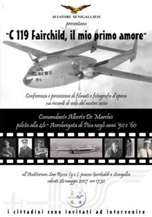 Conferenza C-119 a San Rocco - manifesto