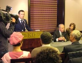 Shimon Peres e Elazar Cohen