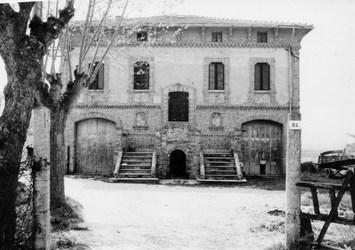 Casa colonica abbattuta (Senigallia, via Capanna)