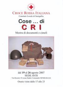 Cose di CRI - Volantino (fronte)