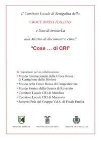 Cose di CRI - Volantino (retro)
