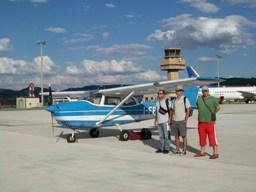 Aeroporto dell'Urbe (Roma): la partenza