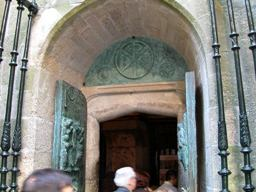 La porta Santa a Santiago de Compostela
