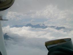 Picos de Europa con nuvole minacciose