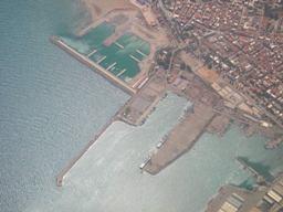 Porto deserto in Algeria