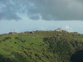 Impianti militari per la sorveglianza del confine Siria-Israele (alture del Golan)