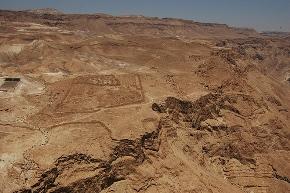 Panorama da Masada