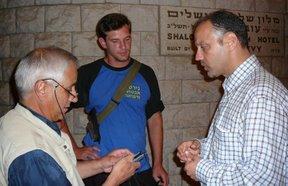 Intervista ad un addetto alla sicurezza (Gerusalemme)