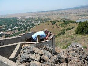 Fortificazione sulle alture del Golan