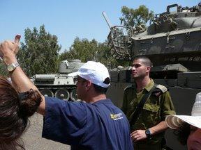 Ufficiale carrista dell\'IDF