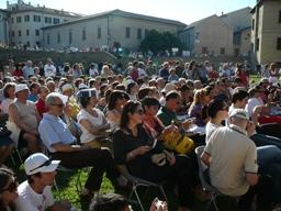 Marco Travaglio a Senigallia: parte del pubblico