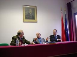 Giancarlo Parma al Centro Mazziniano di Senigallia