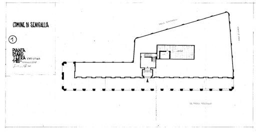 Palazzo della Cultura - Pianta 1