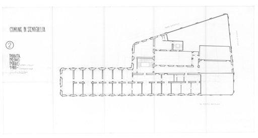 Palazzo della Cultura - Pianta 2