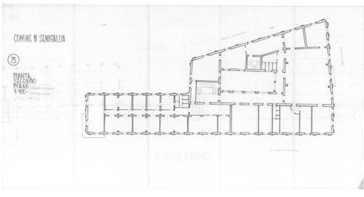 Palazzo della Cultura - Pianta 3