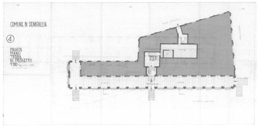 Palazzo della Cultura - Pianta 4