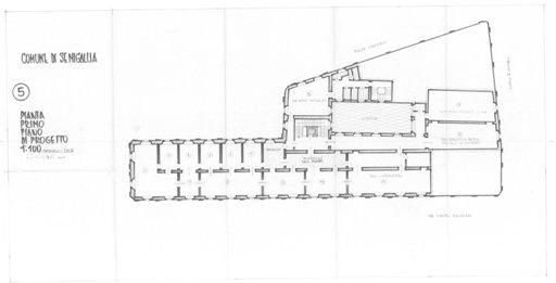 Palazzo della Cultura - Pianta 5