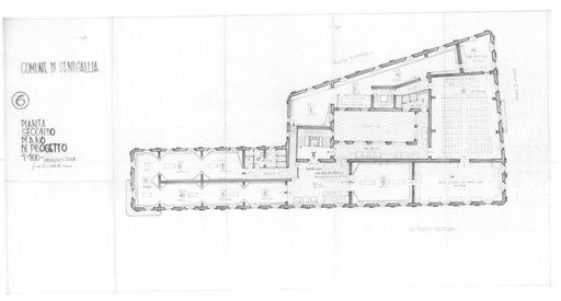 Palazzo della Cultura - Pianta 6