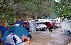 Campeggio al Mezza Canaja