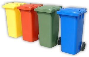 Contenitori per rifiuti per raccolta differenziata